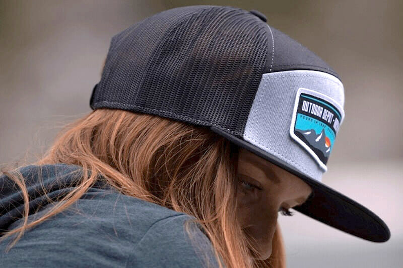 richardson trucker hat with patch
