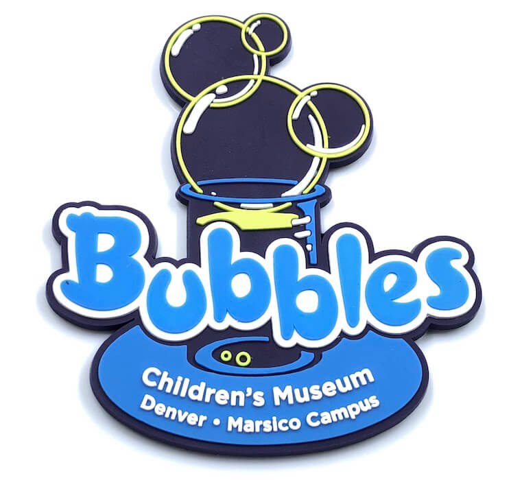 rubber childrens museum magnet