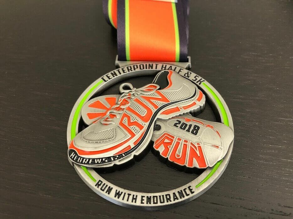 custom running medal