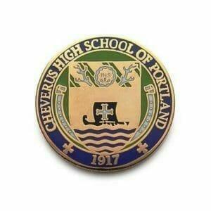 high school custom lapel pin