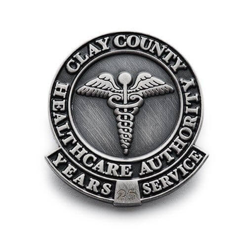 25 year healthcare service pin