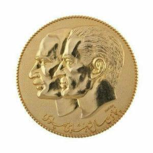 gold 3d token