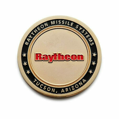 Raytheon Coins