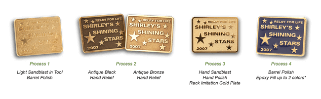 shiny star Pins