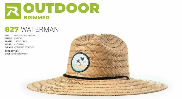 custom lifeguard hat
