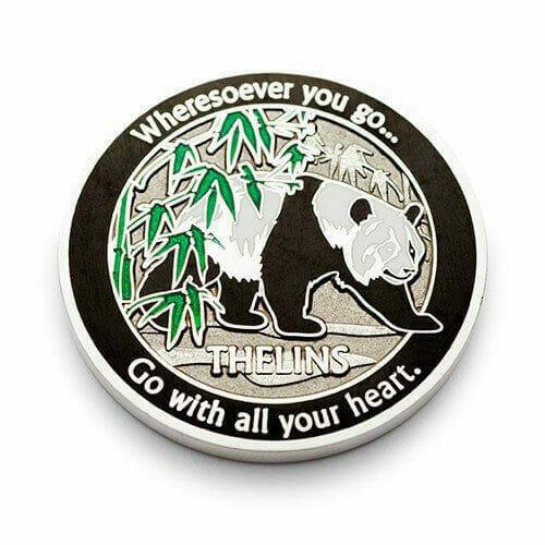 custom panda geocoin