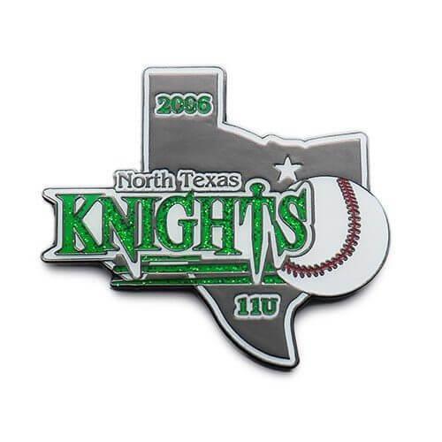 State Custom Baseball Trading Pins