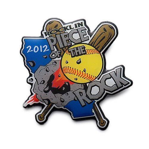 2012 baseball trading pin