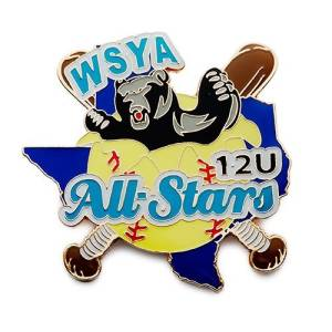 WSYA All Stars trading pin