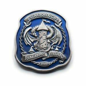 renaissance festival lapel pin