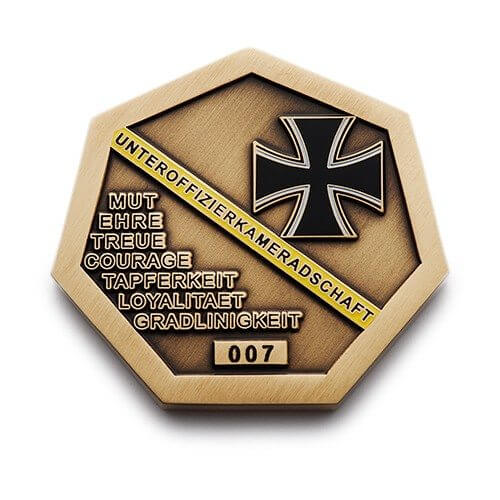 Custom Challenge Coins - Military Coin Design - Monterey Company