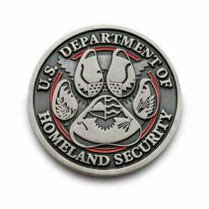 Homeland Security Coin